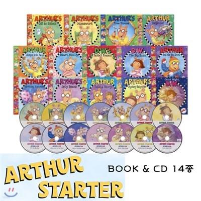 Arthur Starter 14종 Set (Paperback(14)+CD(14))