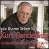 Kurt Sanderling 브루크너: 교향곡 3번 (Bruckner: Symphony No. 3) 쿠르트 잔덜링