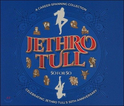 Jethro Tull - 50 For 50 - A Career Spanning Collection 제스로 툴 50주년 기념 앨범