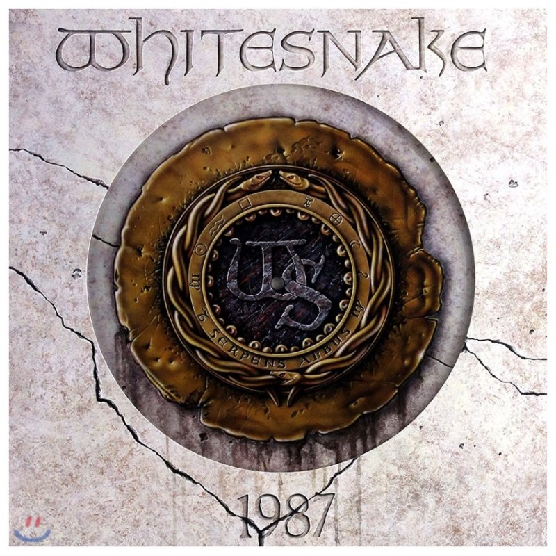 Whitesnake (화이트스네이크) - 1987 [픽쳐 디스크 LP]