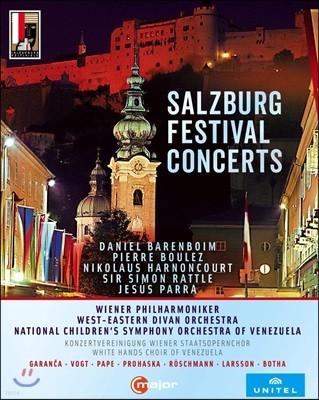 2008-2012 잘츠부르크 페스티벌 오프닝 모음집 (Salzburg Festival Concerts) [6 Blu-ray]