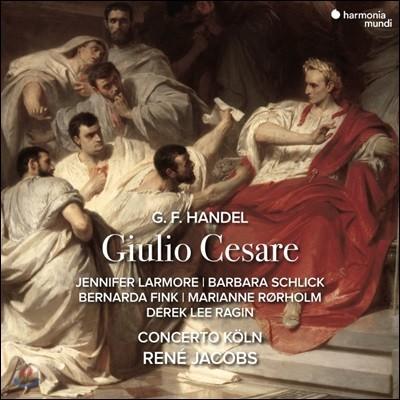 Rene Jacobs 헨델: 오페라 `줄리어스 시저` (Handel: Giulio Cesare in Egitto)