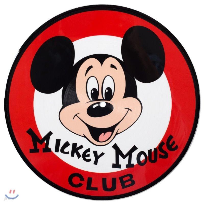 미키마우스 클럽 프로그램 음악 (Mickey Mouse Club March OST) [10인치 픽쳐디스크 LP]
