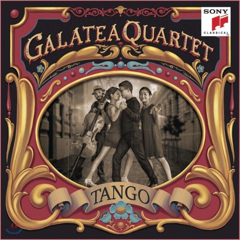 Galatea Quartet 탱고 아르헨티나 [현악 사중주 편곡반] (Argentinian Tangos Arranged for String Quartet)