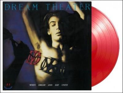 Dream Theater (드림 시어터) - When Dream And Day Unite [투명 레드 컬러 LP]