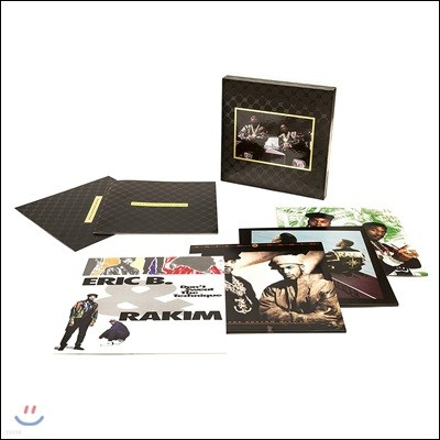 Eric B. & Rakim (에릭 비 & 라킴) - The Complete Collection 1987-1992 [8 LP+2 CD Box Set]