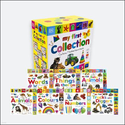 DK 마이 퍼스트 컬렉션 7종 세트 (보드북 / 세이펜 버전) DK My First Collection : 우리 아이 첫번째 영어사전
