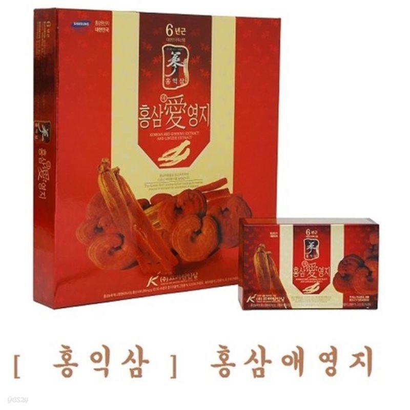 [홍익삼] 홍삼애영지 80ml X 30포 (쇼핑백포함)