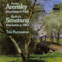 Trio Parnassus - Smetana: Piano Trio, Op. 15; Arensky: Piano Trio, Op. 32 (GER 수입반)