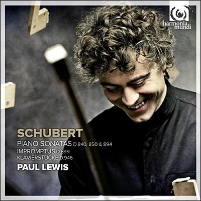 Paul Lewis 슈베르트: 피아노 소나타 ,환상곡, 즉흥곡 - 폴 루이스 (Schubert: Piano Sonatas D840, 850, 894 & Impromptus D899)