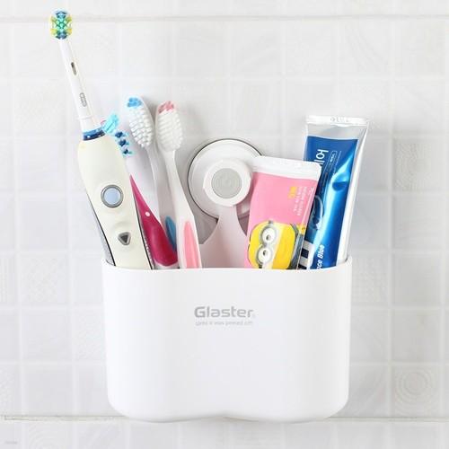 글라스터 다용도통 칫솔통 칫솔걸이 꽂이 욕실용...