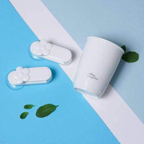 스트롱흡착 컵&컵걸이 (걸이1P+컵1P)
