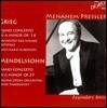 Hans Swarowsky / Menahem Pressler 그리그 / 멘델스존 : 피아노 협주곡 (Grieg: Piano Concerto in A minor, Op. 16 / Mendelssohn: Piano Concerto No. 1 in G minor, Op. 25)