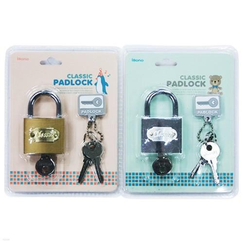 [알앤비]아이비스 3500 클래식 열쇠형자물쇠(iBono-IL)/비밀번호키/일기장/사물함/여행가방/ibis