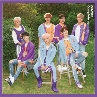 온앤오프 (ONF) - Complete -Japanese Ver.- (CD+DVD) (초회한정반 A)