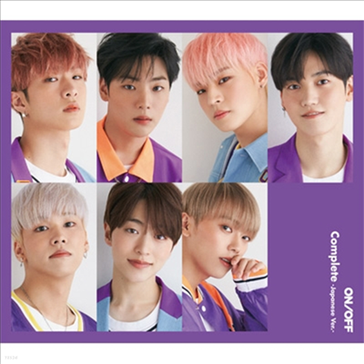 온앤오프 (ONF) - Complete -Japanese Ver.- (CD+Booklet) (초회한정반 B)