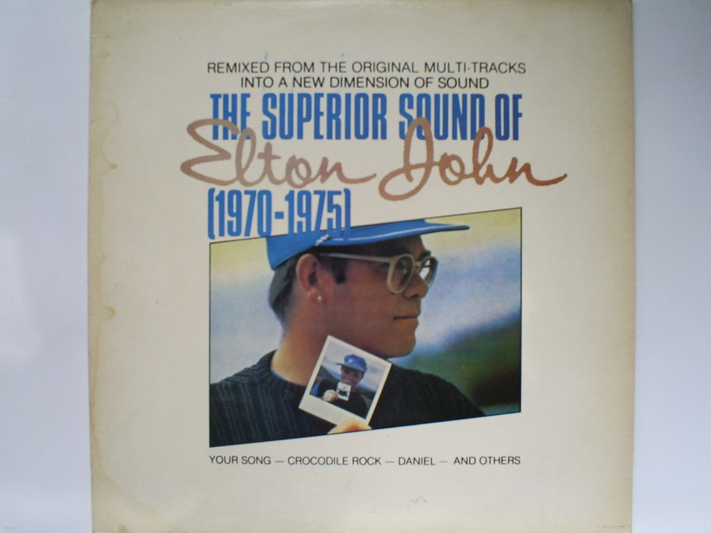 LP(엘피 레코드) 엘튼 존 Elton John : The Superior Sound Of Elton John 1970 - 1975