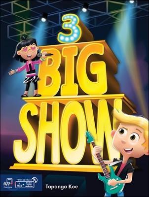Big Show 3 : Student's Book + CD