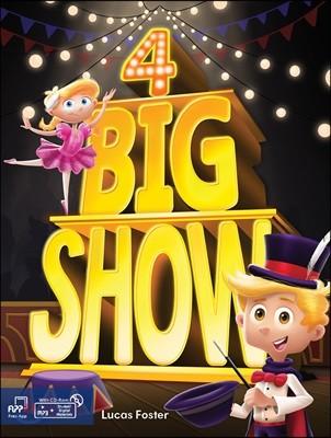 Big Show 4 : Student's Book + CD
