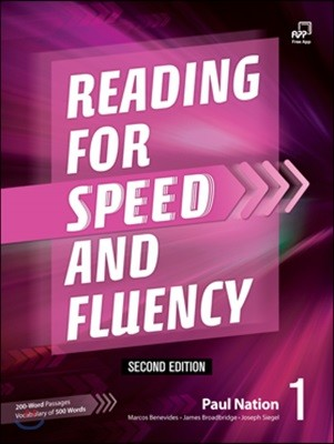 Reading for Speed and Fluency 1 (2/E) Student Book