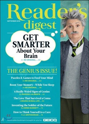 Reader's Digest USA (월간) : 2018년 09월