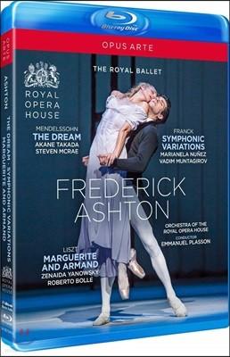 Royal Ballet 안무가 프레데릭 애쉬톤의 대표작 (Frederick Ashton: The Dream / Symphonic Variations / Marguerite And Armand)