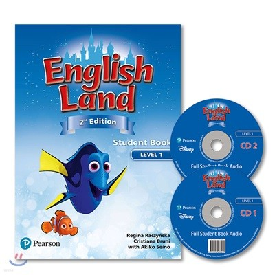 English Land 2/E Level 1 :  Student Book with Audio CD