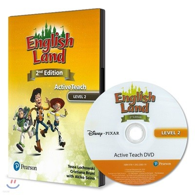 English Land 2/E Level 2 :  Active Teach DVD