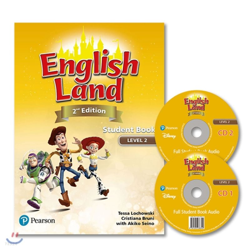 English Land 2/E Level 2 :  Student Book with Audio CD