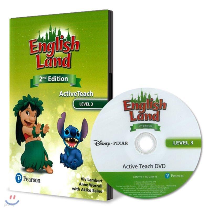 English Land 2/E Level 3 :  Active Teach DVD