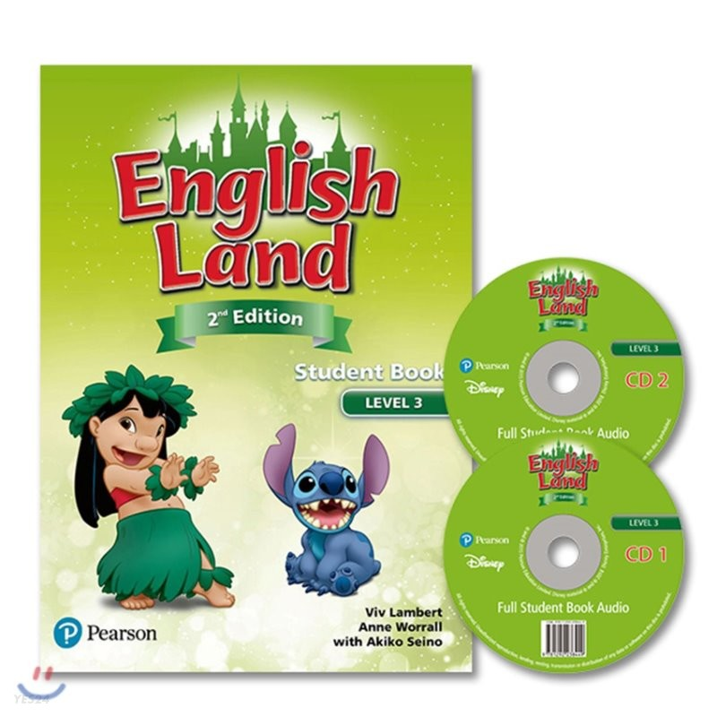 English Land 2/E Level 3 :  Student Book with Audio CD