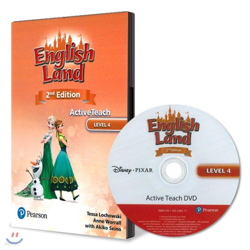 English Land 2/E Level 4 :  Active Teach DVD