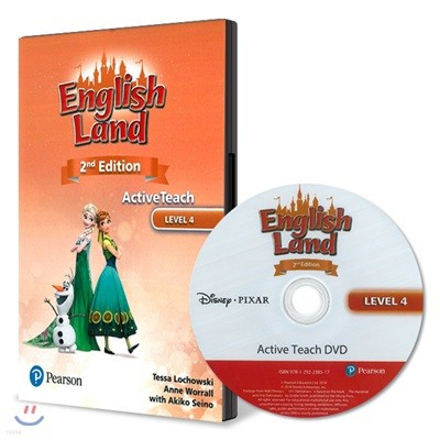 English Land 2/E Level 4 :  Active Teach DVD