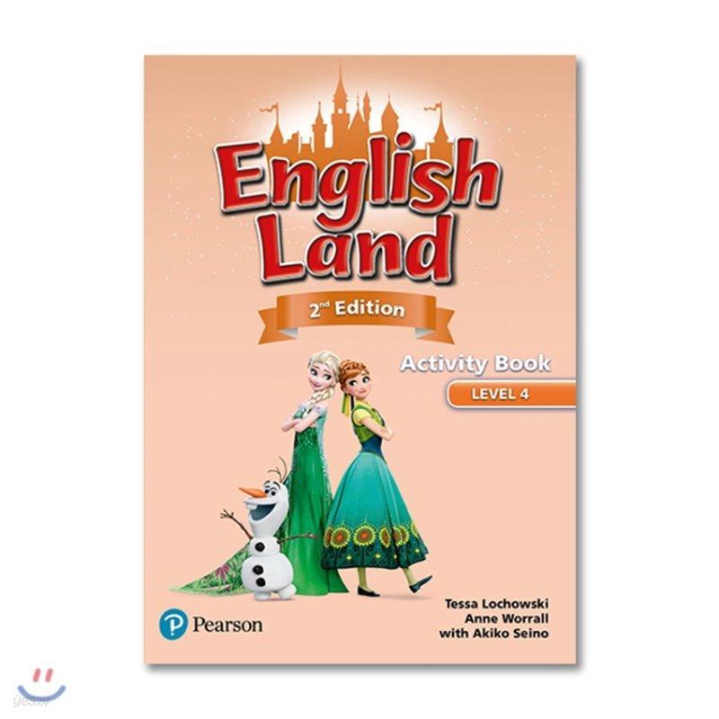 English Land 2/E Level 4 :  Activity Book
