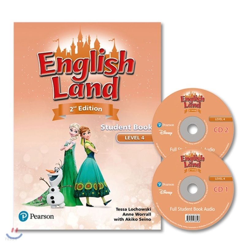 English Land 2/E Level 4 :  Student Book with Audio CD
