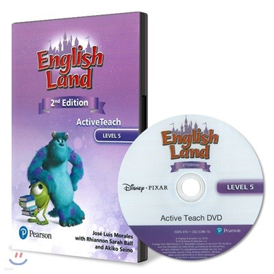 English Land 2/E Level 5 :  Active Teach DVD