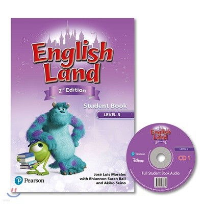 English Land 2/E Level 5 :  Student Book with Audio CD