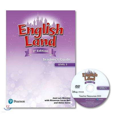English Land 2/E Level 5 :  Teacher's Guide with Resources DVD