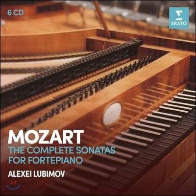 Alexei Lubimov 모차르트: 피아노 소나타 전집 [포르테피아노 연주반] (Mozart: The Complete Sonatas for Fortepiano)