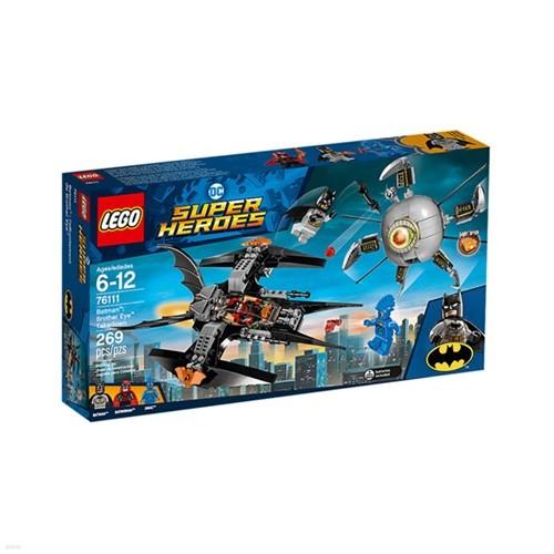 [레고 슈퍼히어로] 76111 배트맨 브라더아이 대...