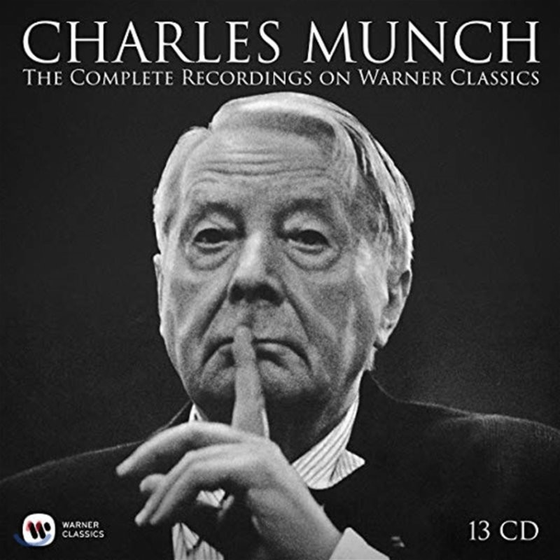 Charles Munch 샤를 뮌시 워너 녹음 전집 (The Complete Recordings on Warner Classics)