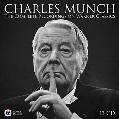 Charles Munch 샤를 뮌시 워너 녹음 전집 (The Complete Recordings on Warner Classics)