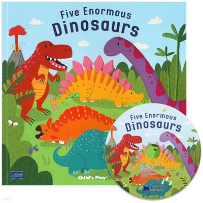 [노부영 마더구스] Five Enormous Dinosaurs