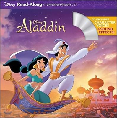 Aladdin Read-Along Storybook and CD : 디즈니 애니메이션 알라딘 리드얼롱 스토리북 & CD (개정판)