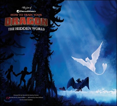 The Art of How to Train Your Dragon 3 : 드래곤 길들이기 3 공식 컨셉 아트북