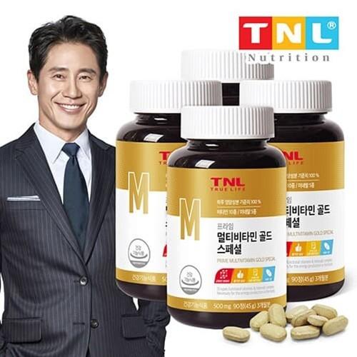 TNL뉴트리션 멀티비타민 골드(병) 4병 (12개월분)