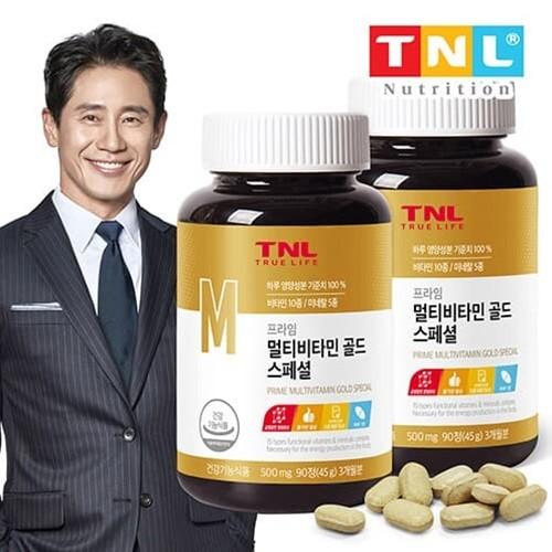 TNL뉴트리션 멀티비타민 골드(병) 2병 (6개월분)
