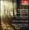 Giovanni De Chiaro 커미트 폴링: 기타 협주곡 1번, 현을 위한 모음곡 2번 '천국으로 가는 길을 따라' (Kermit Poling: Guitar Concerto No.1, 'Along These Footsteps to Paradise')