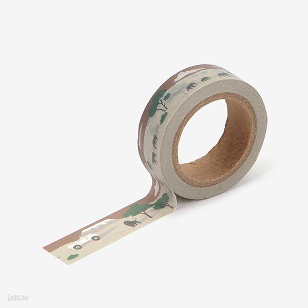 Masking tape single - 125 Safari