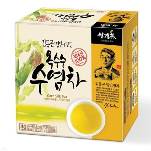 쌍계명차 일반티백_김동곤명인 옥수수수염차 40...